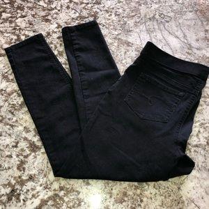 Justice Mid Rise Leggings Black Size 12 Plus